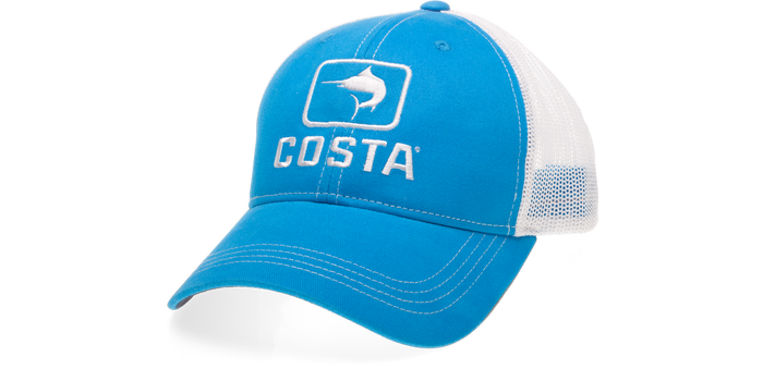 Costa Marlin Trucker - Costa Blue/White