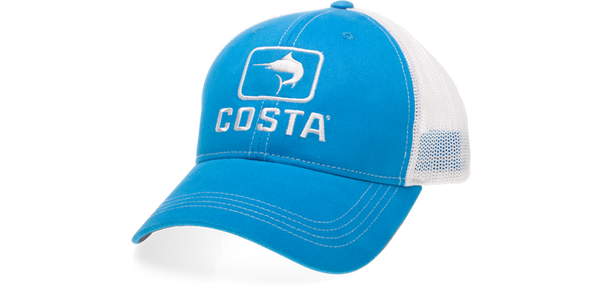 Costa Del Mar Costa Marlin Trucker - Costa Blue/White - Boaters Republic