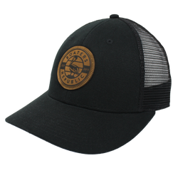 White Caps Trucker - Blackout