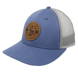 White Caps Trucker - Slate