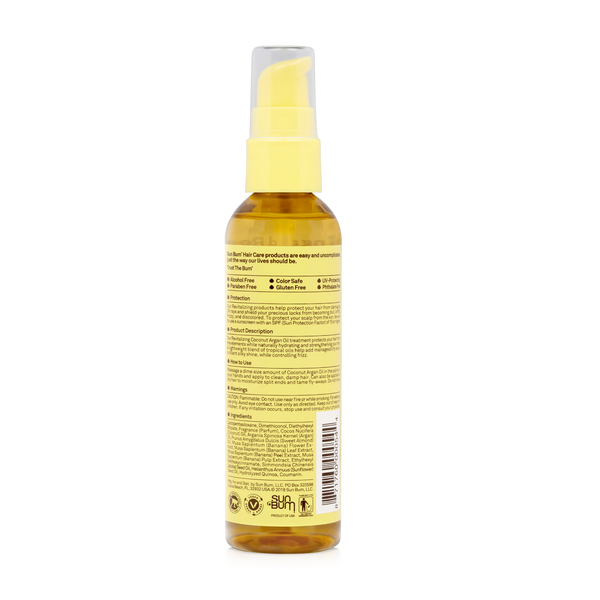 Coconut Argan Oil 3oz