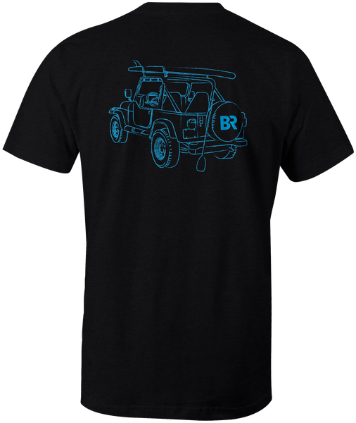 Paddle Jeep S/S - Heather Black