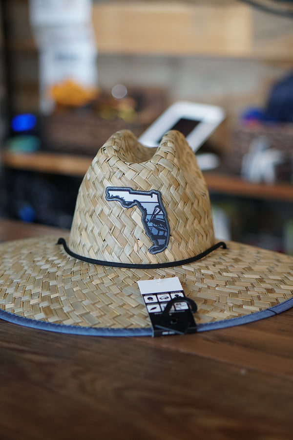 Florida Pelican Straw Hat - Grey