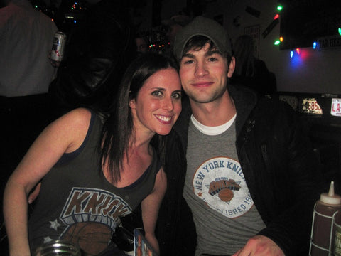 Chace Crawford New York Knicks