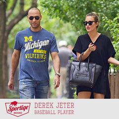 Derek Jeter Michigan Wolverines T-Shirt