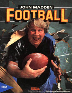 John Madden Football Cover 1988