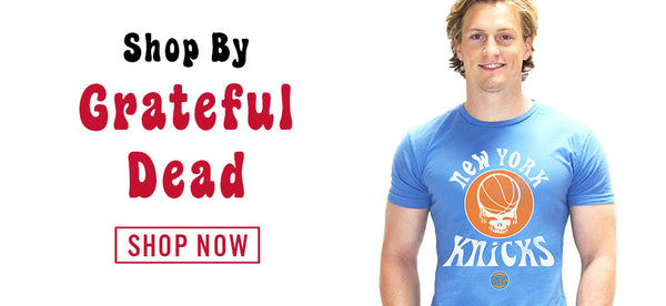 Grateful Dead NBA Shirts