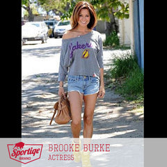 Brooke Burke LA Lakers Sportiqe