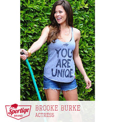 Brooke Burke You Are Uniqe Sportiqe