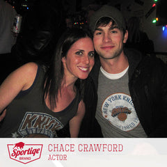 Chace Crawford New York Knicks Sportiqe