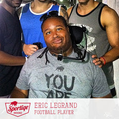 Eric LeGrand You Are Uniqe Sportiqe