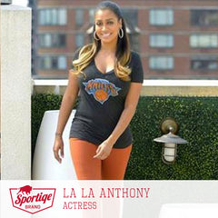 LaLa Anthony New York Knicks Sportiqe
