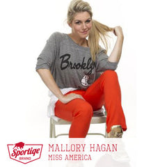Mallory Hagan Brooklyn Nets Sportiqe