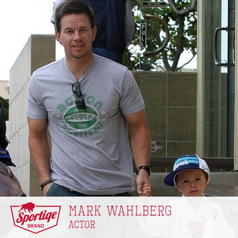 Mark Wahlberg Boston Celtics Sporiqe