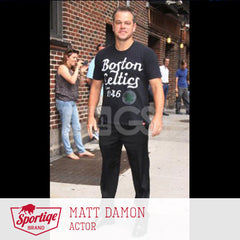 Matt Damon Boston Celtics Sportiqe