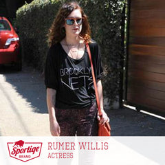 Rumer Willis Brooklyn Nets Sportiqe