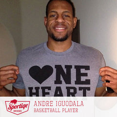 Andre Iguodala One Heart T-Shirt