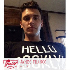 James Franco Hello Brooklyn T-Shirt