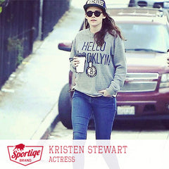 Kristen Stewart Hello Brooklyn Sweatshirt