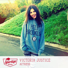 Victoria Justice Hello Brooklyn Sweatshirt