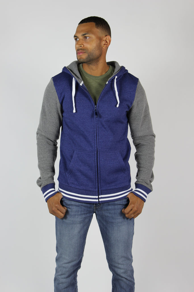 Sportiqe Men's Goldie Jacket Navy