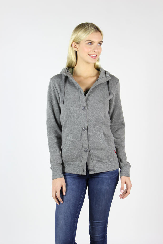 Sportiqe Women's Marissa Jacket Gray