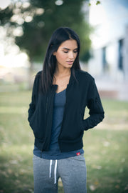 Sportiqe Women's Ice Jacket Black