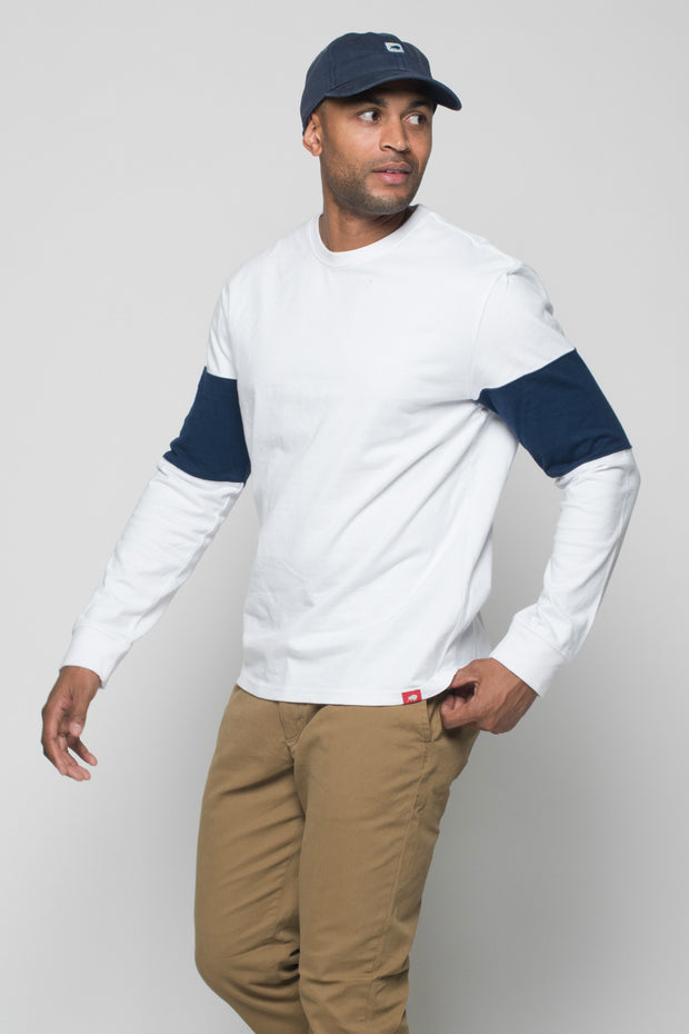 Sportiqe Men's Thorpe Long Sleeve Football Tee