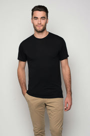 Sportiqe Men's Relaxed Comfy Shirt Black