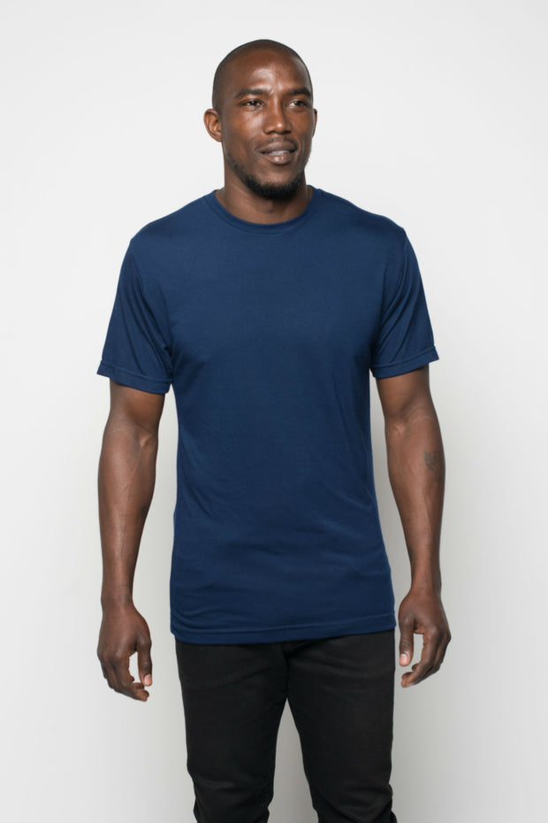 Sportiqe Men's Relaxed Comfy Shirt Navy