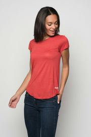 Sportiqe Women's Tina Shirt Red
