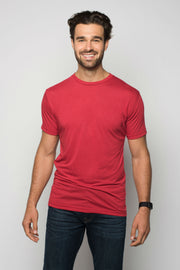 Sportiqe Men's Relaxed Comfy Shirt Red