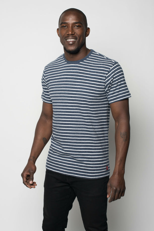 Sportiqe Men's Park T-Shirt Navy