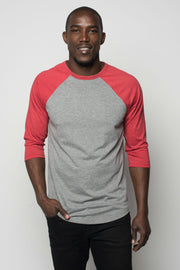 Sportiqe Men's Schwarber Shirt Red
