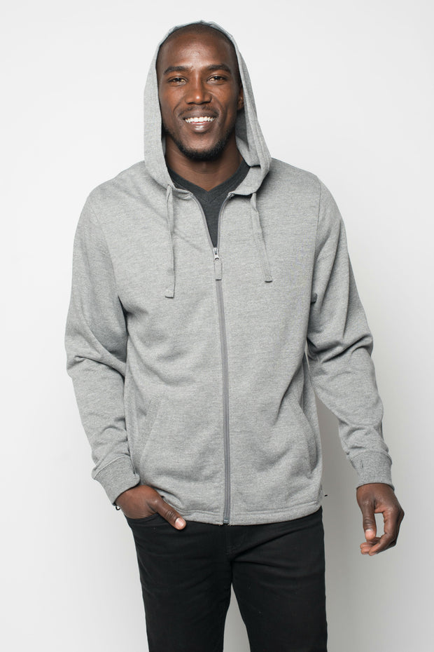 Sportiqe Men's Jerry Jacket Gray