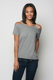 Sportiqe Women's Chloe Shirt Gray