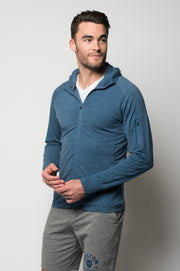 Sportiqe Men's Apollo Jacket Steel
