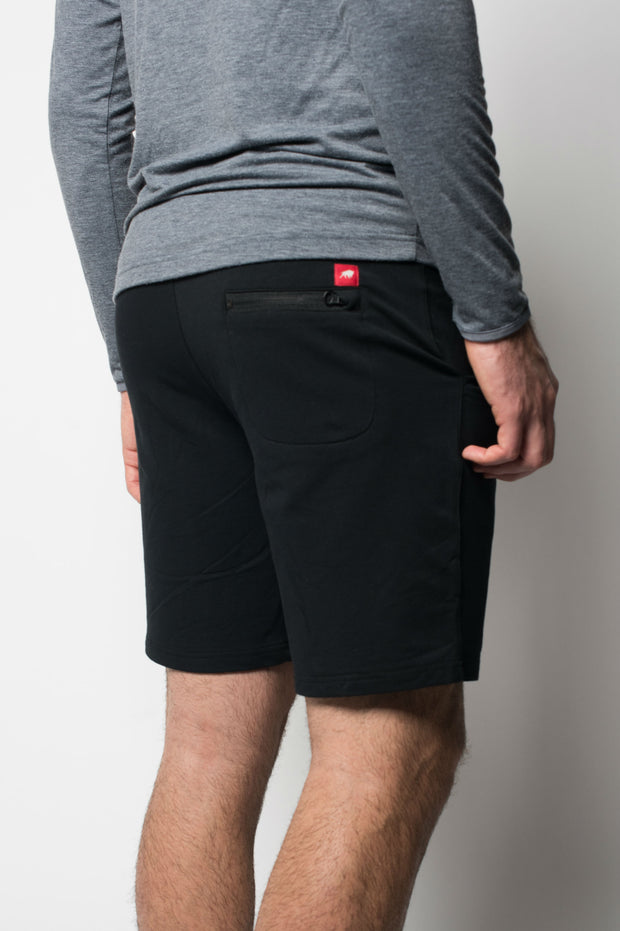 Sportiqe Men's Hades Shorts Black