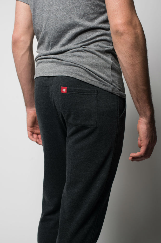 Sportiqe Men's Quincy Sweatpants Black