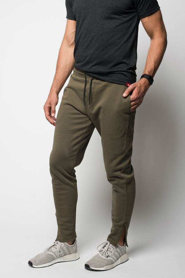 Sportiqe Men's Caffey Sweatpants Safari