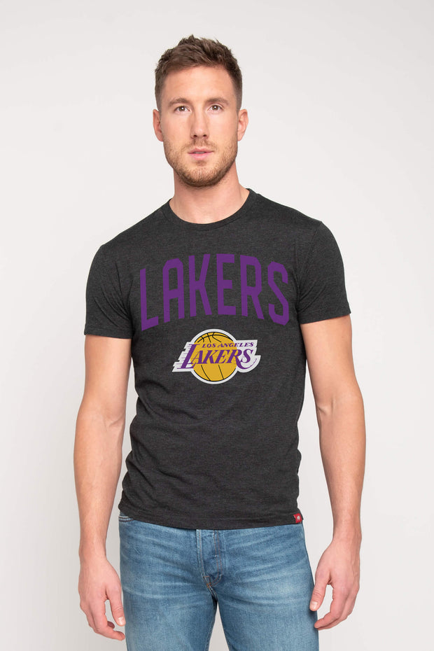 SPORTIQE LA LAKERS GRAPHIC COMFY TEE