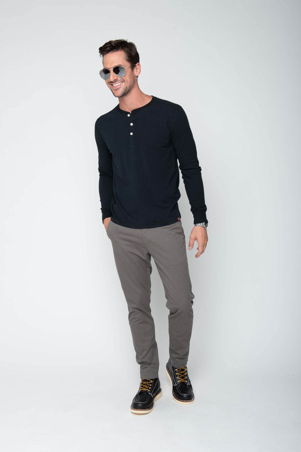 MEN'S GRANT LONG SLEEVE HENLEY