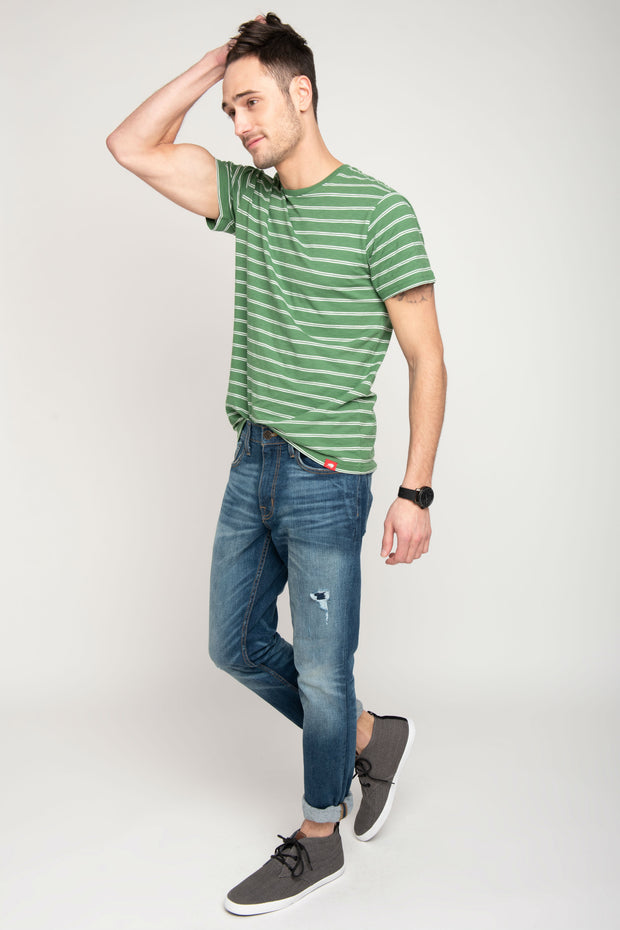 Sportiqe Men's Pismo Striped Tee