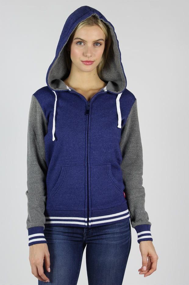 Sportiqe Women's Finch Jacket Navy