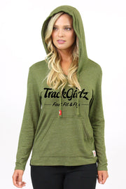 TrackGirlz Military Green Anistion