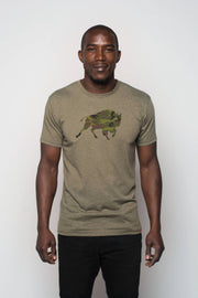 SALE COLORS - CAMO BUFFALO GRAPHIC COMFY TEE
