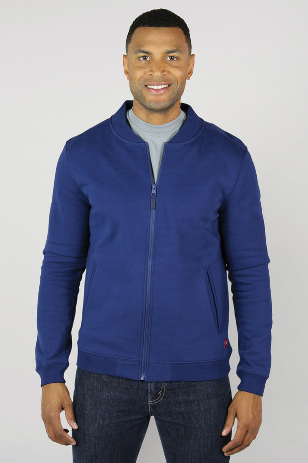 Sportiqe Men's Harris Track Jacket Navy