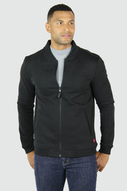 Sportiqe Men's Harris Track Jacket Black