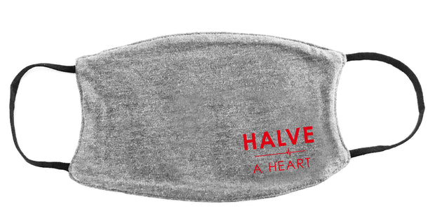Halve A Heart Face Covers