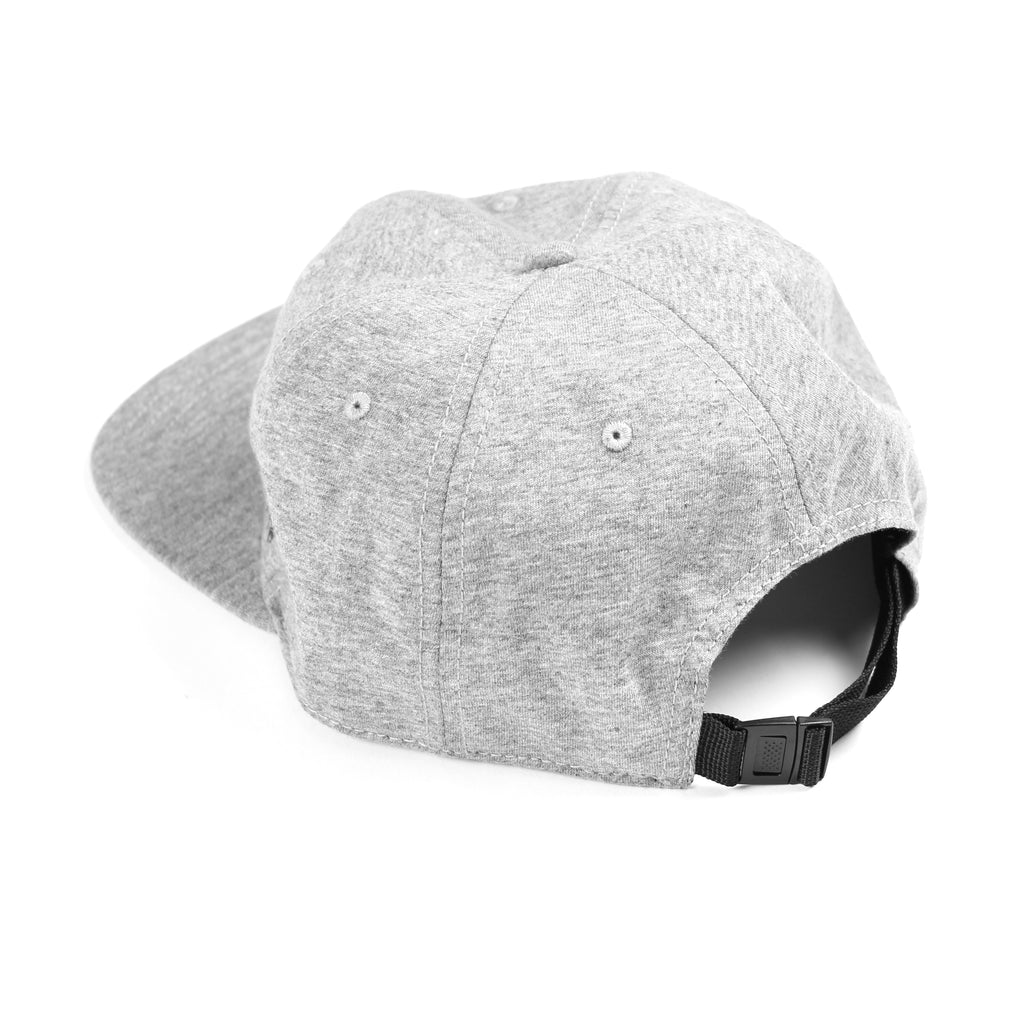 Sportiqe Unstructured Logo Knit Flat Brim Hat